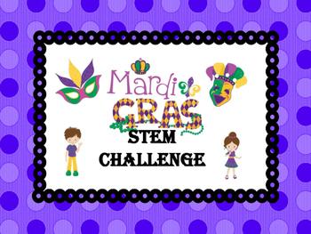 Mardi Gras Mini Float STEM challenge
