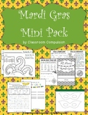 Mardi Gras Mini Pack (Informational Booklet, Craft, Puzzles)