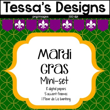 Mardi Gras Mini-Set