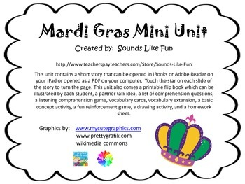 Mardi Gras Mini Unit