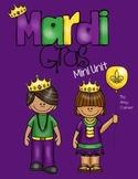 Mardi Gras Mini Unit: Print and Go