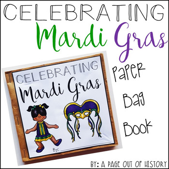 Mardi Gras Paper Bag Book - Holidays Paper Bag Books