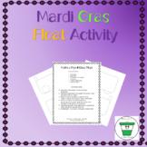 Mardi Gras Parade Float Activity