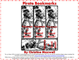 FREE! Mardi Gras or Pirate Bookmarks for Pirate Day