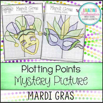 Mardi Gras Plotting Points - Mystery Picture
