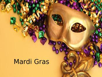 Mardi Gras - Power Point - history celebrations around the world