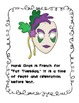 Mardi Gras Printable Book