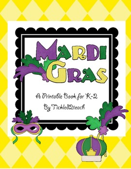 Mardi Gras Printable Book
