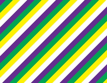 Mardi Gras Purple, Green, & Gold Backgrounds for PowerPoint, Flipcharts, & More!
