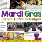 Mardi Gras Reading Comprehension & More! {with non-fiction