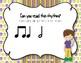 Mardi Gras Rhythms! Interactive Rhythm Practice Game - Ta-a