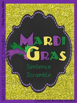 Mardi Gras Sentence Arrangement