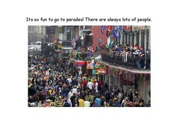 Mardi Gras Social Story