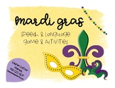 Mardi Gras Speech & Language!