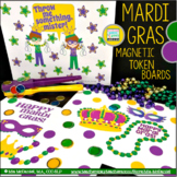 Mardi Gras Token Boards for Magnetic Wands & Tokens