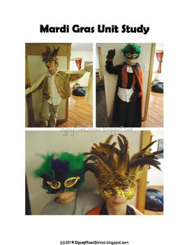 Mardi Gras Unit - K-6 - Hands On Learning
