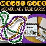 Mardi Gras Vocabulary Task Cards