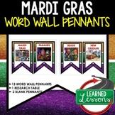 Mardi Gras Word Wall (Louisiana History)