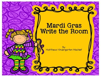 Mardi Gras Write the Room