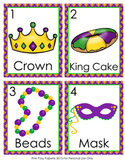 Mardi Gras Write the Room Activity