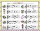 Mardi Gras Write-the-Room, Melodic Scavenger Hunt - Practice La