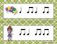 Mardi Gras Write-the-Room, Rhythm Scavenger Hunt - Practice Ta ti-ti