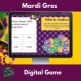 Mardi Gras game - Powerpoint, Google drive, PDF