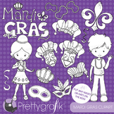 Mardi gras stamps commercial use, vector graphics, images - DS640