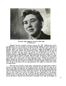Margaret Laurence: The Stone Angel