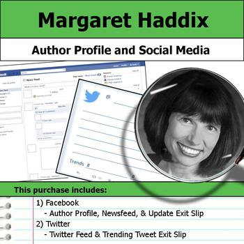 Margaret Peterson Haddix - Author Study - Profile and Social Media