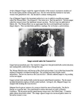 Margaret Sanger - A Short Illustrated Biography