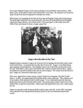 Margaret Sanger and Planned Parenthood