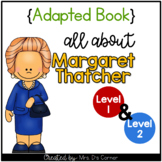 Margaret Thatcher Adapted Book [Set of 2] | Famous Women i