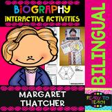 Margaret Thatcher - Interactive Activities - Dual Language