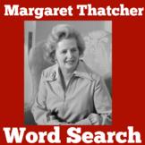 Margaret Thatcher | England | London | Worksheet Activity