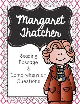 Margaret Thatcher Reading Passage & Comprehension Questions