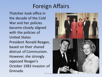 Margaret Thatcher - The Iron Lady PowerPoint