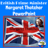 Margaret Thatcher - The Iron Lady PowerPoint for Women's History Month