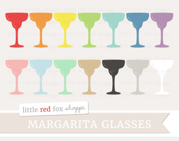 Margarita Glass Clipart; Cocktail, Bar, Drink