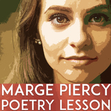 Marge Piercy Poem Lesson | Rosh Hashanah | Activities | Close Reading