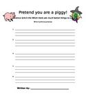 Margie Palatini - Piggie Pie Writing Activity