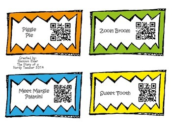 Margie Palatini QR Readers for Listen to Reading