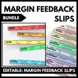 Margin Feedback Slips BUNDLE