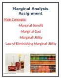 Marginal Analysis Assignment w/ Answer Key