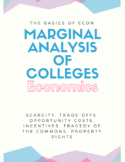 Marginal Analysis of Colleges