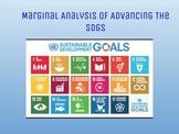 Marginal Analysis of Sustainable Development Goals