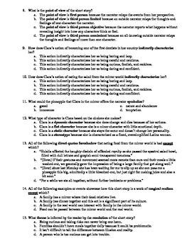 "Maria Elena Llano's ""In the Family"" 15-Question Multiple Choice Quiz"
