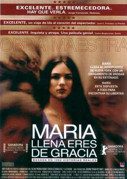 Maria Full of Grace, María llena eres de gracia. English and Spanish Movie Guide