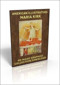 Maria Kirk - 50 beautiful out of copyright illustrations to use for anything!