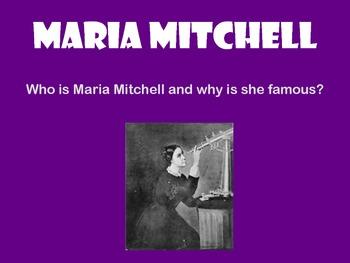 Maria Mitchell PowerPoint